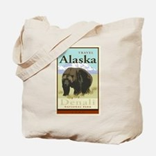 Travel Alaska Tote Bag