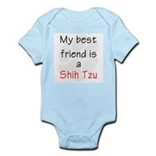 My Best Friend is a Shih Tzu Infant Creeper