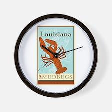 Travel Louisiana Wall Clock