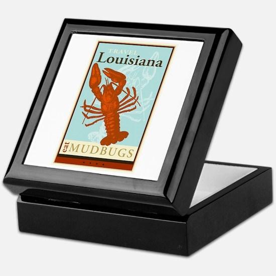 Travel Louisiana Keepsake Box