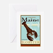 Travel Maine Greeting Card