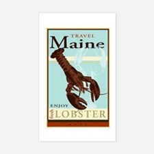 Travel Maine Rectangle Decal