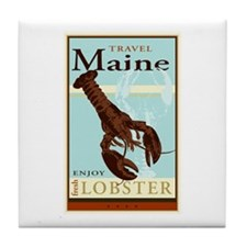 Travel Maine Tile Coaster