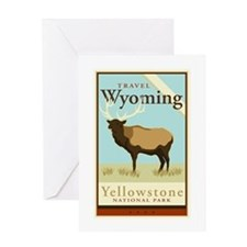 Travel Wyoming Greeting Card