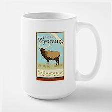 Travel Wyoming Large Mug