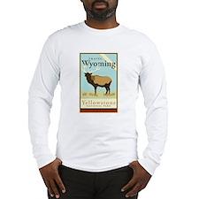 Travel Wyoming Long Sleeve T-Shirt