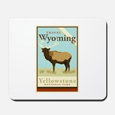 Travel Wyoming Mousepad