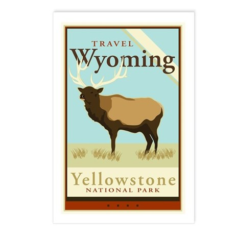 Travel Wyoming Postcards (Package of 8)