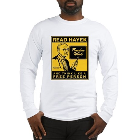 Read Hayek Long Sleeve T-Shirt