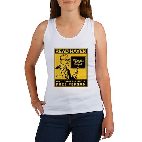 Read Hayek Women's Tank Top