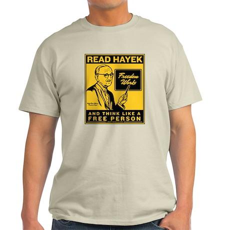 Read Hayek Light T-Shirt