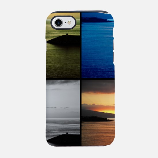 Quadriptych seascape iPhone 7 Tough Case