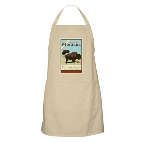 Travel Montana BBQ Apron