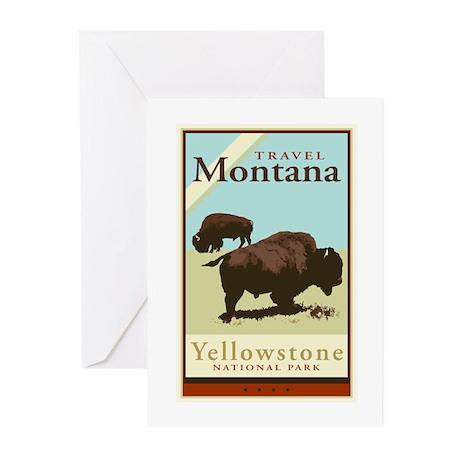 Travel Montana Greeting Cards (Pk of 20)
