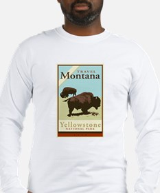 Travel Montana Long Sleeve T-Shirt