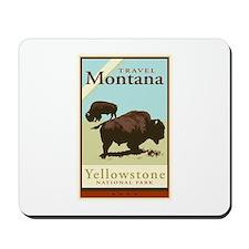 Travel Montana Mousepad