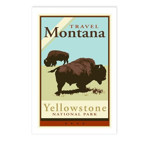 Travel Montana Postcards (Package of 8)