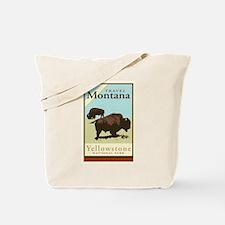Travel Montana Tote Bag