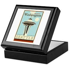 Travel Washington Keepsake Box