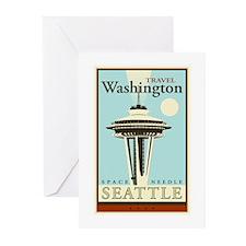 Travel Washington Greeting Cards (Pk of 20)