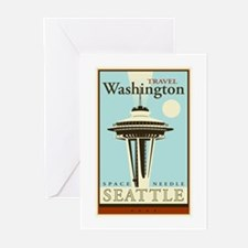 Travel Washington Greeting Cards (Pk of 20)
