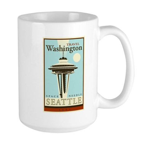 Travel Washington Large Mug