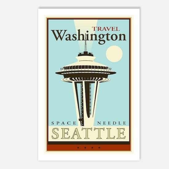 Travel Washington Postcards (Package of 8)