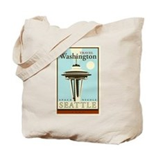 Travel Washington Tote Bag