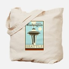 Travel Washington Tote Bag