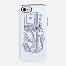 Vintage Sketchy Rolleiflex iPhone 7 Tough Case