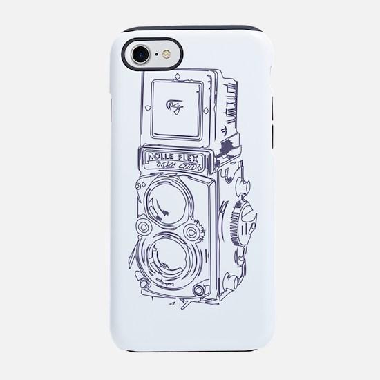 Vintage Sketchy Rolleiflex iPhone 7 Tough Case