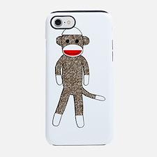 Cute Sock monkey iPhone 7 Tough Case