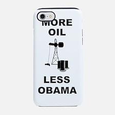 anti obama more oil.png iPhone 7 Tough Case