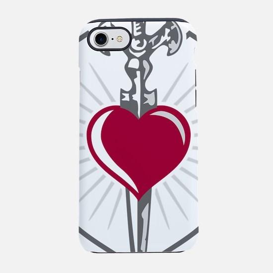 heart sword iPhone 7 Tough Case