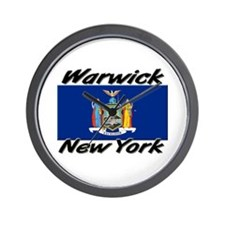 Warwick New York Wall Clock