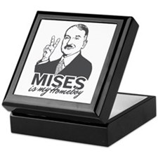 Mises Is My Homeboy Keepsake Box