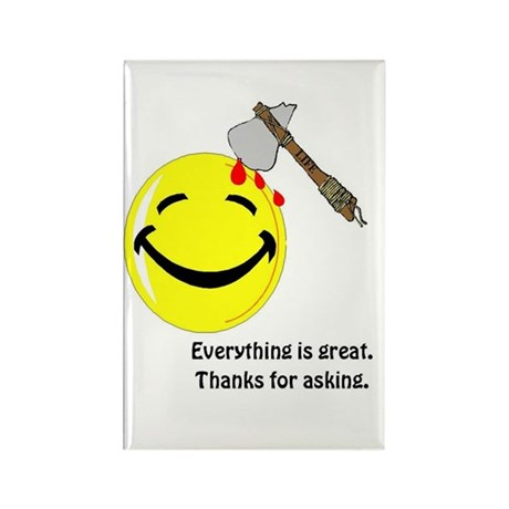 Happiness Sarcastic Magnet