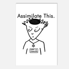 Assimilate This Postcards (Package of 8)