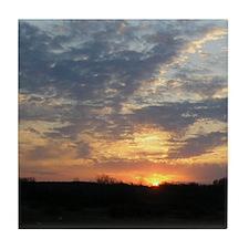 Sunrise 0057 Tile Coaster