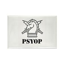 PSYOP Rectangle Magnet