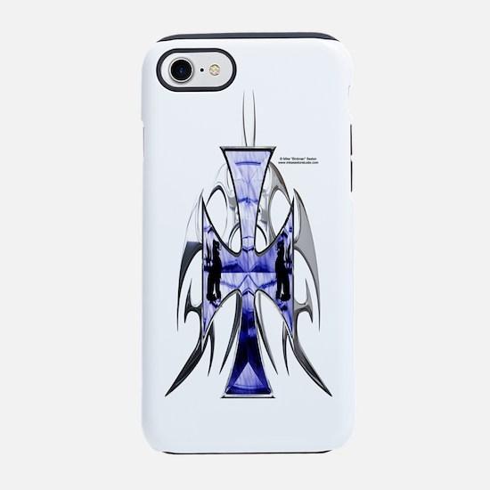 GriffonCross_Bottle.png iPhone 7 Tough Case