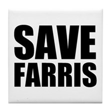 Save Farris Tile Coaster