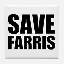 Save Farris Tile Coaster