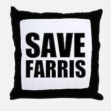 Save Farris Throw Pillow