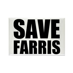 Save Farris Rectangle Magnet (10 pack)