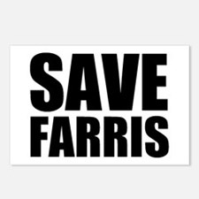 Save Farris Postcards (Package of 8)