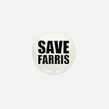 Save Farris Mini Button (100 pack)
