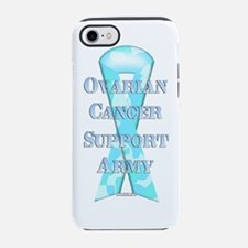 Cute Ovarian cancer iPhone 7 Tough Case