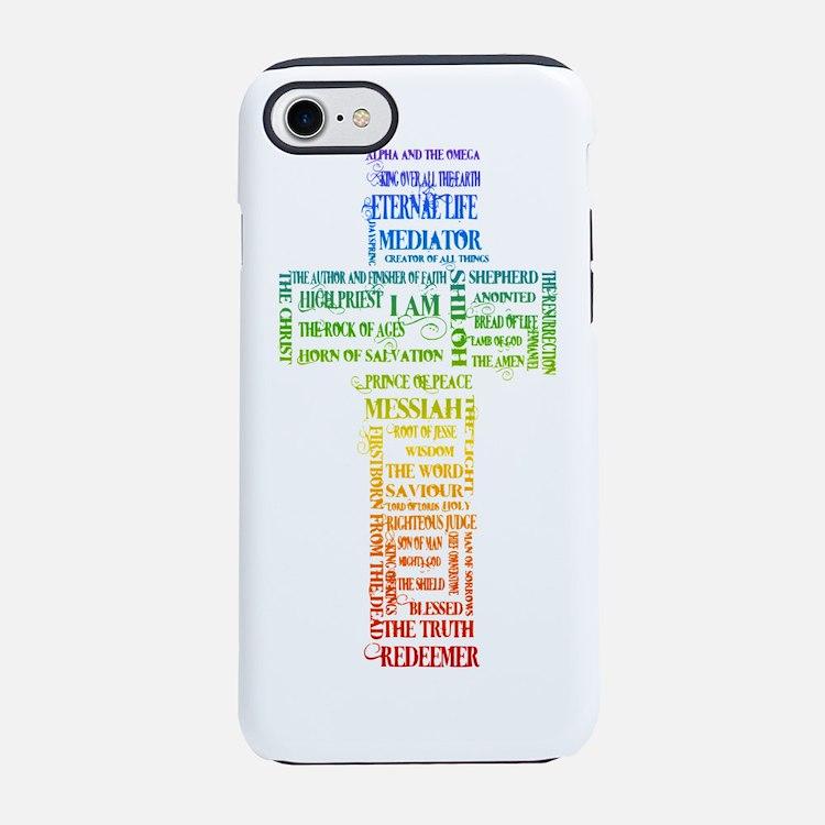 jesus cross 11.png iPhone 7 Tough Case