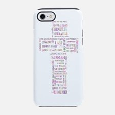 Cute Christian peace iPhone 7 Tough Case